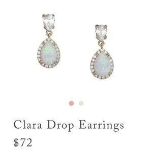 New Clara Drop Earrings by Chloe&Isabel